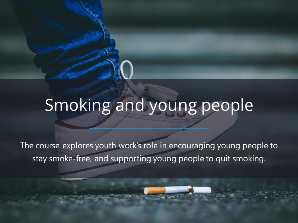 Smoking and young people