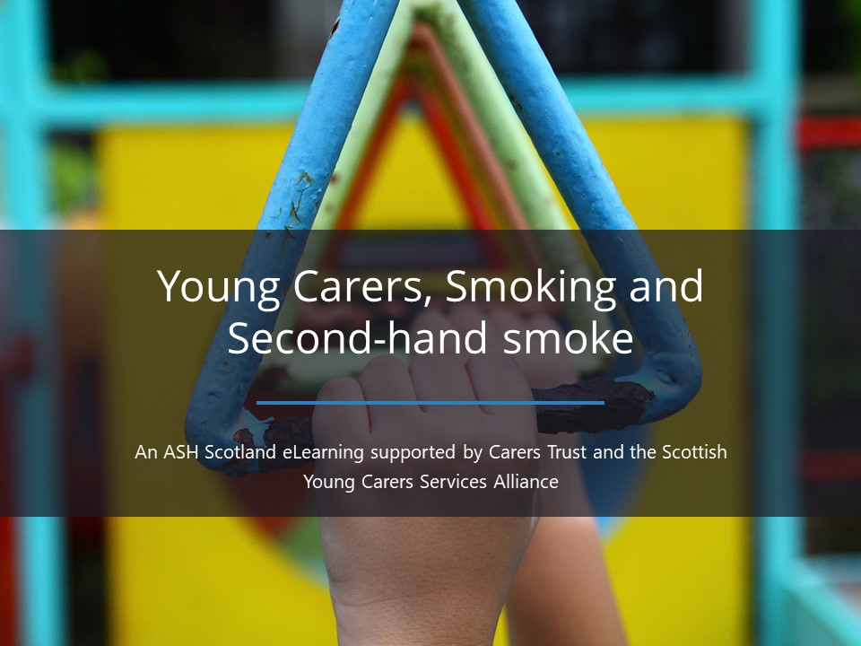 Young carers, smoking and second-hand smoke